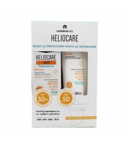 HELIOCARE Pack Helio 360º Mineral SPF50 50ml + Pediatrics Lotion SPF50 200ml CANTABRIA LABS Protección solar