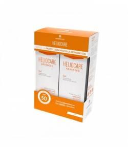 HELIOCARE Pack Duplo Helio SPF50+ Gel 200ml CANTABRIA LABS Protección solar