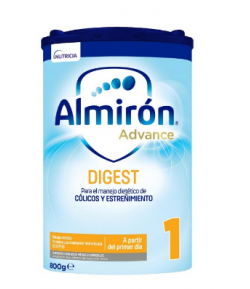 Almirón ADVANCE Digest 1 con Pronutra 800gr Anti-Cólicos