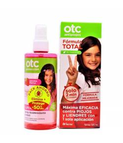 Loción Antipiojos Fórmula Total 125ml + Spray Repelente 250ml OTC Piojos