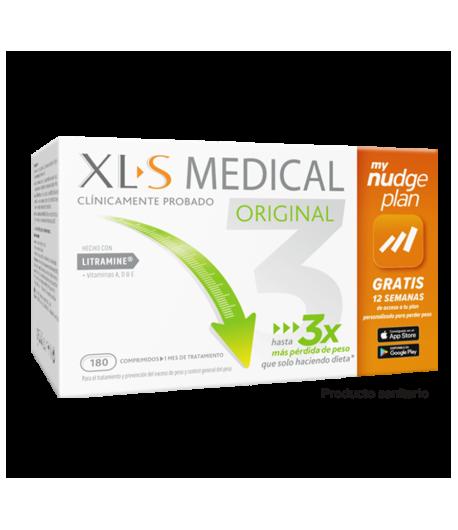 XLS Medical CaptaGrasas 180comp Suplementos