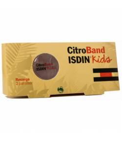 Citroband Recambios 2 Uds Pulseras Antimosquitos Kids ISDIN Repelentes