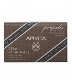 Jabón Natural con Propóleo y Tomillo 125gr APIVITA Desinfectantes