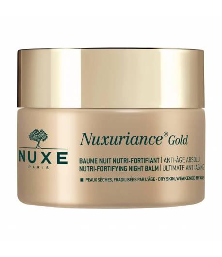 Bálsamo Noche Nutri fortificante Nuxuriance Gold 50ml NUXE Antiedad
