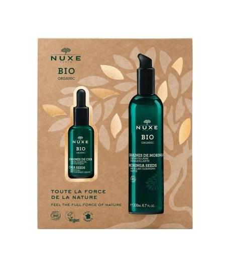 Cofret Nuxe BIO Sérum Chia + Agua Micelar NUXE Antifatiga
