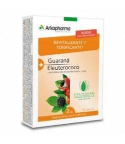 ARKOCÁPSULAS Complex Guaraná + Eluterococo 40caps ARKOPHARMA Energía