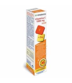 ARKOVITAL Vitamina C 1000mg + Zinc 20 comp Efervescentes ARKOPHARMA Defensas