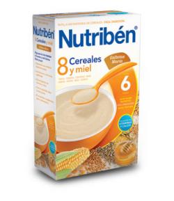 NUTRIBÉN 8 Cerales, Miel y Galletas María 600gr