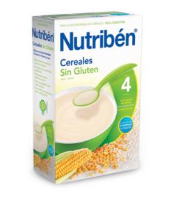 NUTRIBÉN Cereales Sin Gluten 600gr