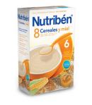 NUTRIBÉN 8 Cereales y Miel 600gr 8 Cereales