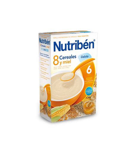 NUTRIBÉN 8 Cereales y Miel Calcio 600gr 8 Cereales
