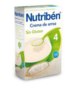 NUTRIBÉN Crema de Arroz 300gr Sin Glúten