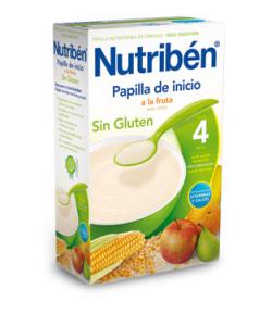 NUTRIBÉN Inicio a la Fruta 300gr Sin Glúten