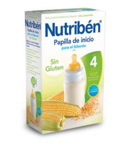 NUTRIBÉN Inicio para el Biberón 600gr Sin Glúten