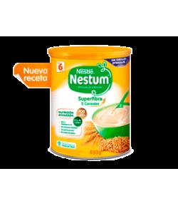 Papilla Nestum 5 Cereales Superfibra 650gr NESTLE 5 Cereales