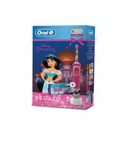 Cepillo Eléctrico Oral-B Kids Princesas Estuche Regalo Cepillos