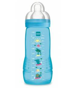Biberón Baby Bottle 330 ml Azul MAM Biberones