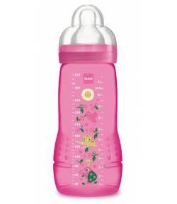 Biberón Baby Bottle 330 ml Rosa MAM Biberones