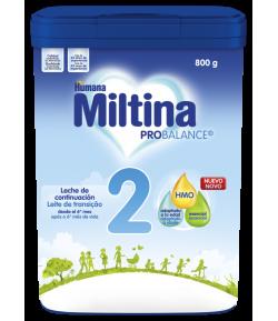 Fórmula 2 Probalance MILTINA 800g Continuación