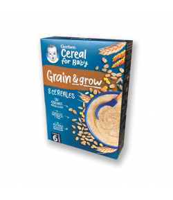 Papilla 8 cereales +6 meses GERBER 250g 8 Cereales