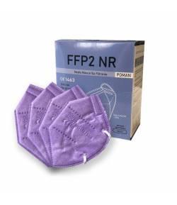 Mascarillas FFP2 Morado Poman Caja 20 unidades FFP2
