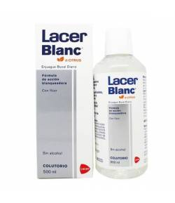 Colutorio LACER BLANC d-Citrus 500ml Blanqueamiento