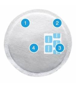 Discos Absorbentes de Lactancia 30Ud MAM Lactancia