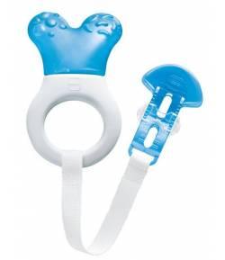 Mordedor Mini Cooler & Clip Azul 1Ud MAM Mordedores