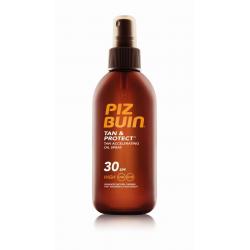 Aceite en Spray Acelerador del Bronceado SPF30 PIZ BUIN TAN & PROTECT 150ml