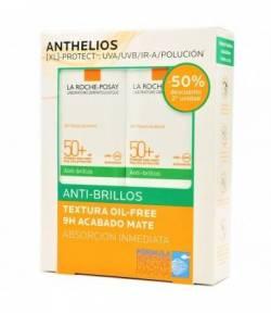 ANTHELIOS SPF 50+ Gel Crema Antibrillos 2x50ml LA ROCHE-POSAY